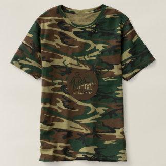 Camiseta O amor é camuflagem do orgulho gay LGBT da