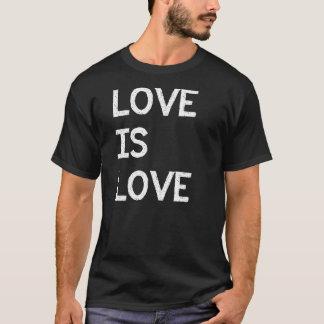 Camiseta O amor é direitos da igualdade do casamento gay do