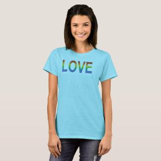 Camiseta O amor é t-shirt do direito humano