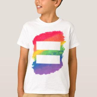 Camiseta O amor iguala o amor - o T do menino