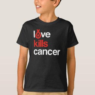 Camiseta O amor mata o cancer - o T do miúdo