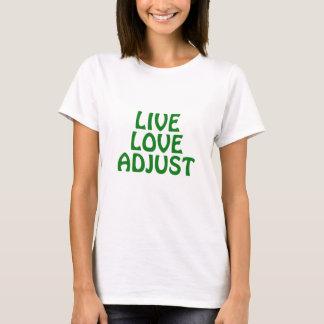 Camiseta O amor vivo ajusta