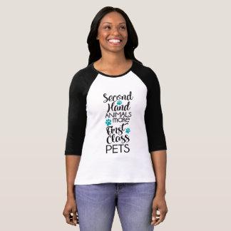 Camiseta ø Animais de estimação da classe