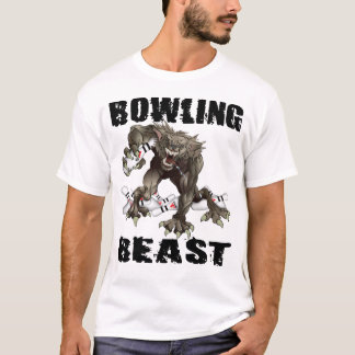 Camiseta O animal da boliche