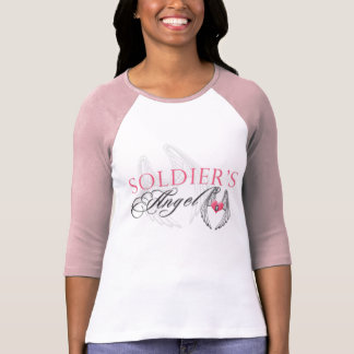 Camiseta O anjo do soldado