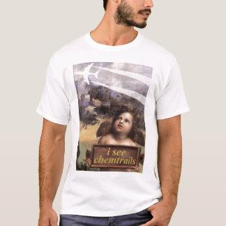 Camiseta O anjo em Madonna de Foligno considera o tshirt