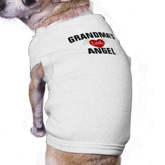 Camiseta O anjo pequeno da avó personalizada