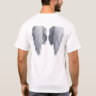 Camiseta O anjo voa o tshirt