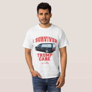 Camiseta O anti T | do cuidado do trunfo eu sobrevivi ao