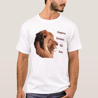Camiseta O apoio Kountze caçoa a fé