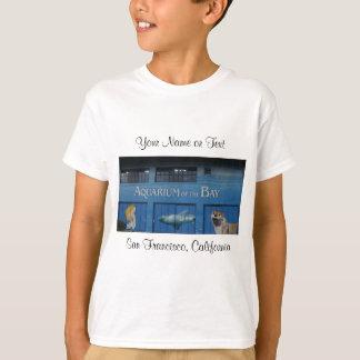 Camiseta O aquário de SF da baía #3 caçoa o t-shirt