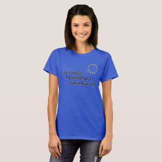 Camiseta O är do entalhe ledsen! Entalhe o röstede para na