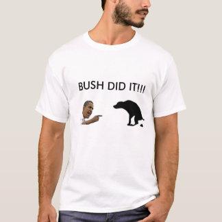 Camiseta o arbusto fê-lo
