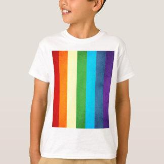 Camiseta O arco-íris arfa o unicórnio