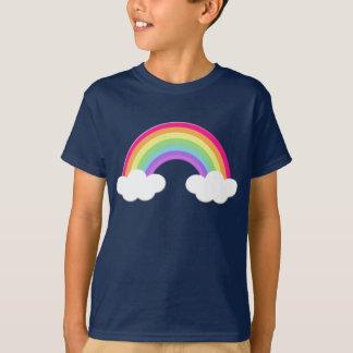 Camiseta O arco-íris bonito caçoa o Tshirt