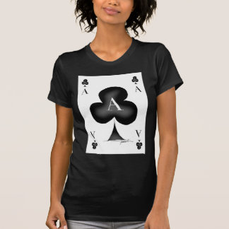 Camiseta O ás de clubes por Tony Fernandes