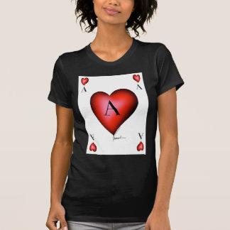 Camiseta O ás de corações por Tony Fernandes
