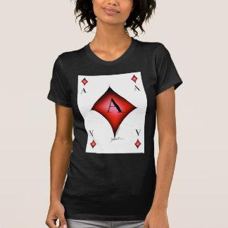 Camiseta O ás de diamantes por Tony Fernandes