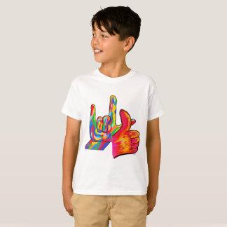 Camiseta O ASL eu te amo e são toda bons