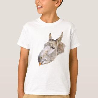 Camiseta O asno chamou Cenoura,