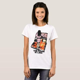 Camiseta O assoalho é a lava 2