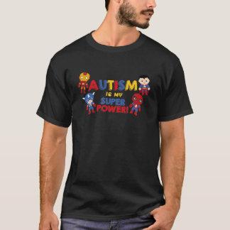 Camiseta O autismo é meu poder super