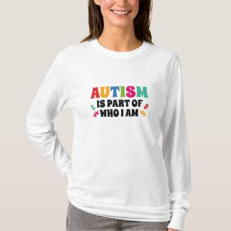 Camiseta O autismo é parte de quem eu sou