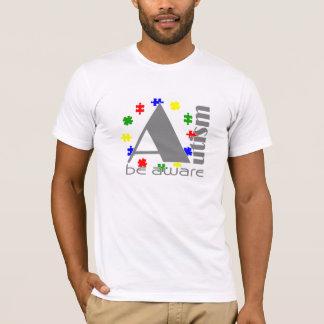 Camiseta O autismo esteja ciente