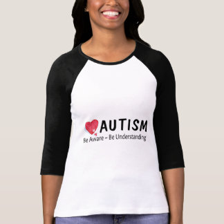 Camiseta O autismo esteja ciente esteja compreendendo