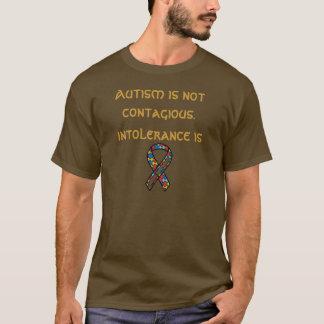 Camiseta O autismo não é contagioso