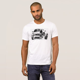 Camiseta O auto carro parte o t-shirt