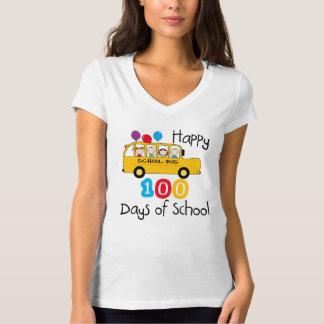 Camiseta O auto escolar comemora 100 dias