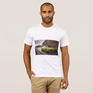 Camiseta O auto que conduz o t-shirt americano do roupa dos