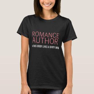 Camiseta O AUTOR ROMANCE neste corpo vive uma mente suja