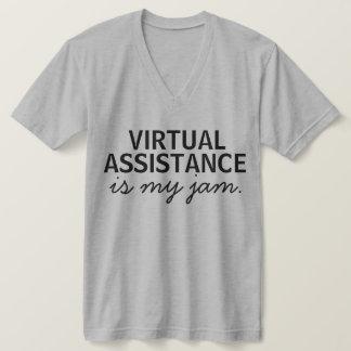 Camiseta O auxílio virtual é meu doce