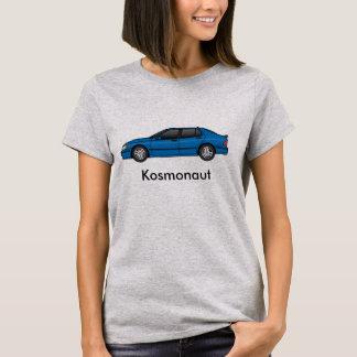 Camiseta o azul cósmico dos kosmonaut 2002