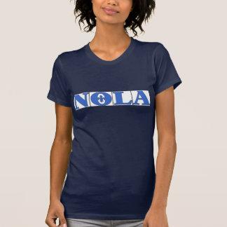 Camiseta O azul de NOLA telha a flor de lis
