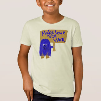 Camiseta O azul faz a guerra do amor não