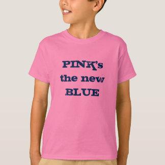 Camiseta O AZUL novo do ROSA