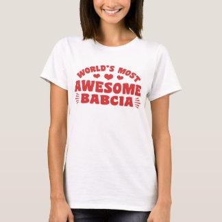 Camiseta O Babcia o mais impressionante do mundo