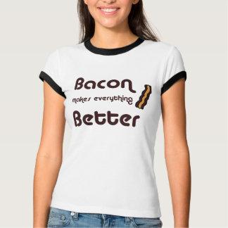 Camiseta O bacon faz a tudo o melhor t-shirt