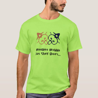 Camiseta O balanço mas de Weebles não faz…