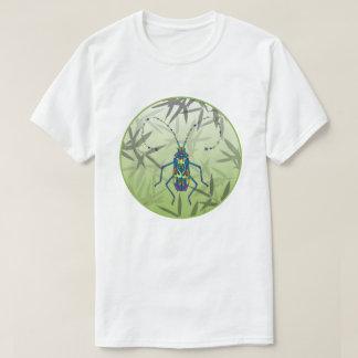 Camiseta O bambu do inseto sae do teste padrão original
