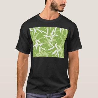 Camiseta O bambu verde sae do teste padrão original