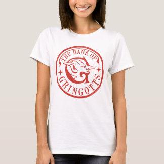 Camiseta O banco do logotipo de GRINGOTTS™