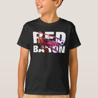 Camiseta O Baron vermelho Fokker Triplane
