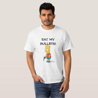 Camiseta O baronete, come minhas balas!
