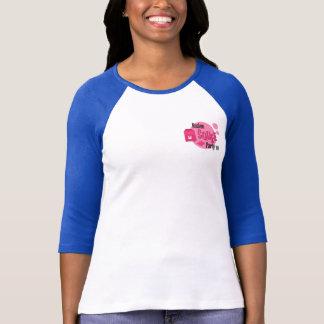 Camiseta O basebol T das senhoras de SQUEE