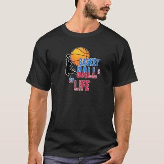 Camiseta O basquetebol é minha vida