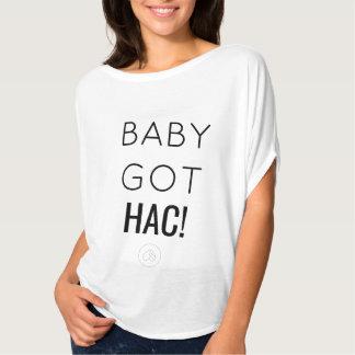 """Camiseta O """"bebê obteve HAC!"""" T"""
